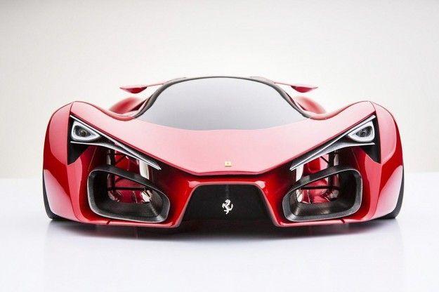 Ferrari F80 concept, render: la Rossa del futuro