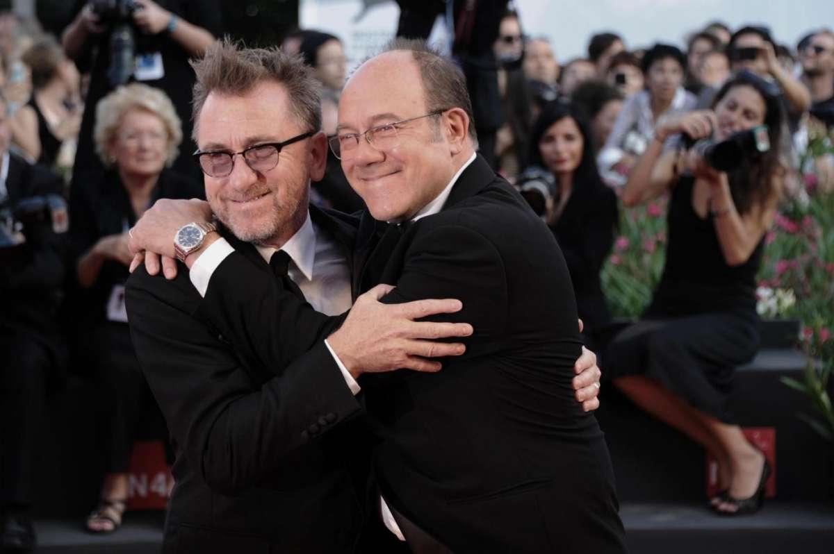 Tim Roth e Carlo Verdone