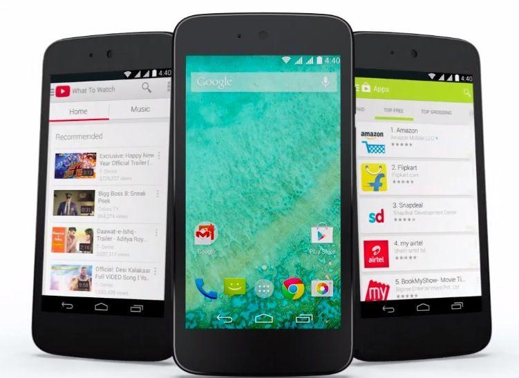 Android One: gli smartphone di Google per i paesi emergenti