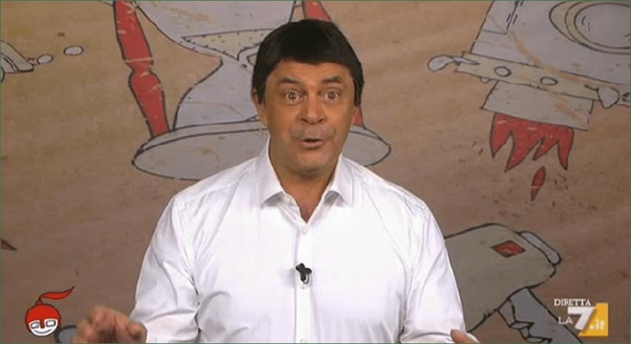 Maurizio Crozza a diMartedì, la copertina a La 7: 'La direzione PD sembrava Sanremo'