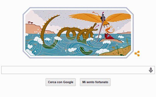 Google, il doodle per Ludovico Ariosto: l'Orlando Furioso protagonista dell'animazione