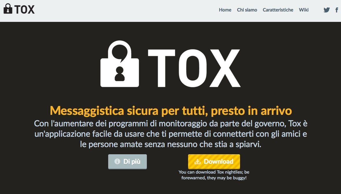 Tox: lo Skype open source anti spionaggio