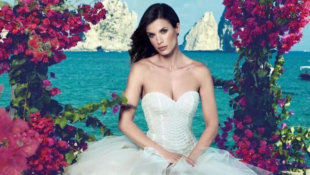 Elisabetta Canalis, l'abito da sposa per il matrimonio con Brian Perri: le nozze in Italia