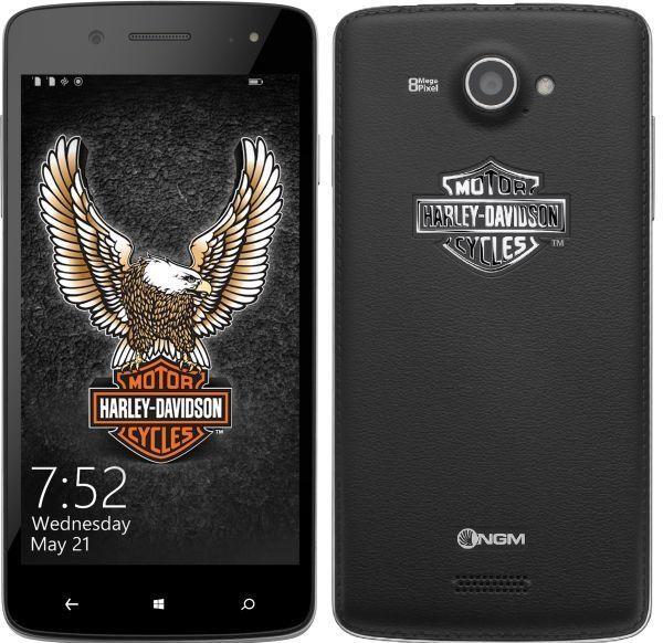 NGM Harley Davidson con Windows Phone 8.1 e dual sim