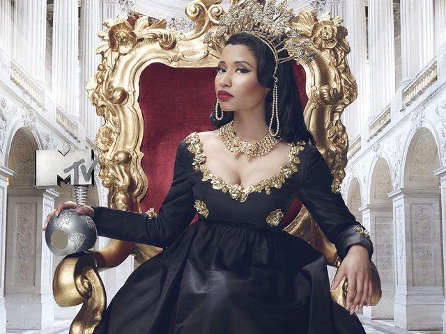 MTV EMA 2014 Nicki Minaj presentatrice