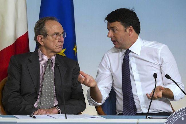 Debito pubblico italiano 2014: le due strategie del Governo Renzi