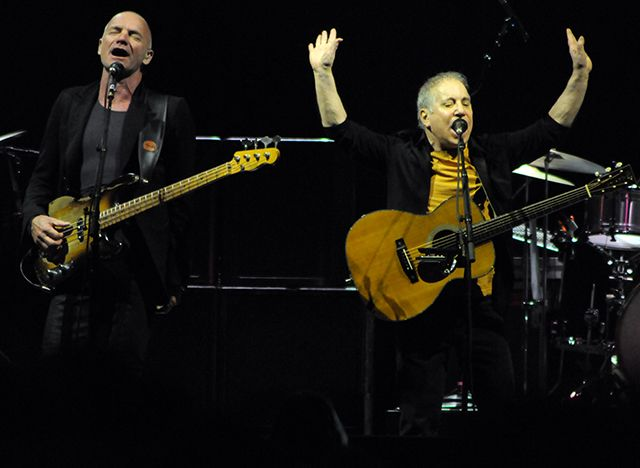 Sting Paul Simon Milano 2015