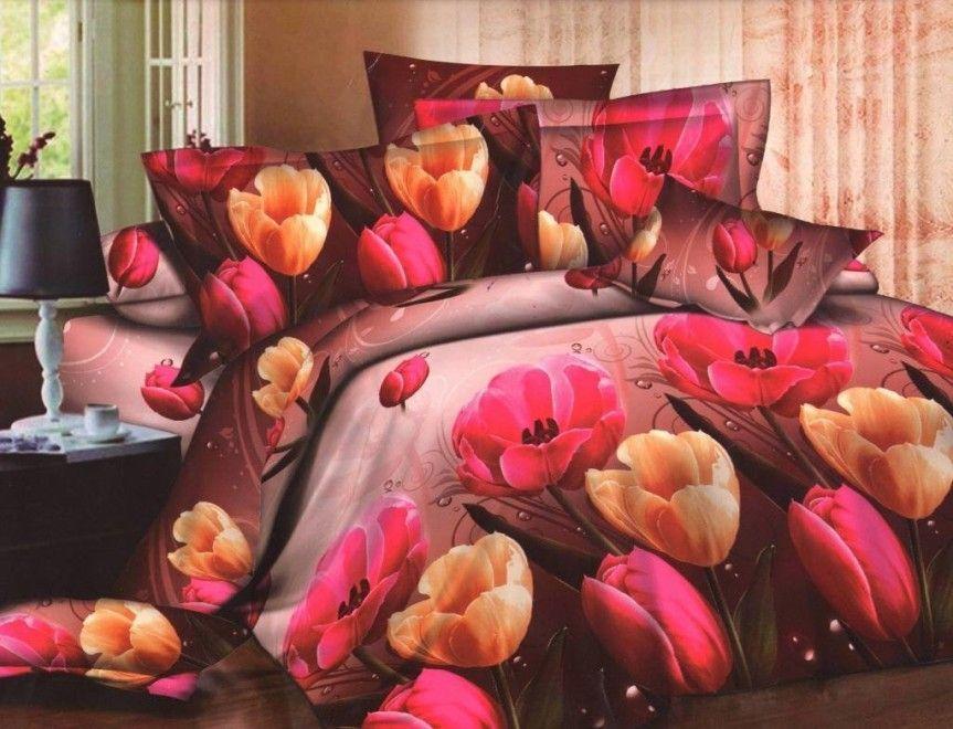 Natura dentro casa: immagini suggestive in camera da letto con la stampa digitale