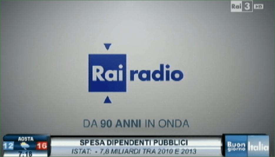 La Radio in Italia compie 90 anni: per la Rai interruzioni omaggio in diretta tv