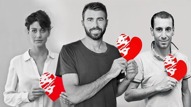 Anche il cuore è un muscolo: tanti vip testimonial della campagna benefica