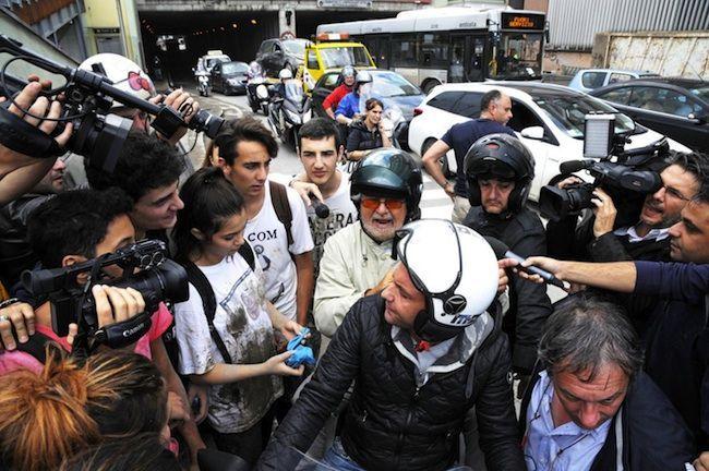 Beppe Grillo intervista negata: il leader del M5S non mantiene le promesse agli alluvionati