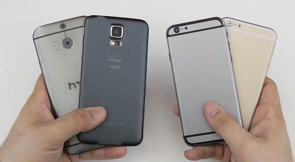 iPhone 6 più veloce di HTC One M8 e Galaxy S5, ma non di Nexus 5
