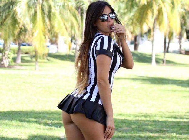 Claudia Romani arbitro hot 150x150