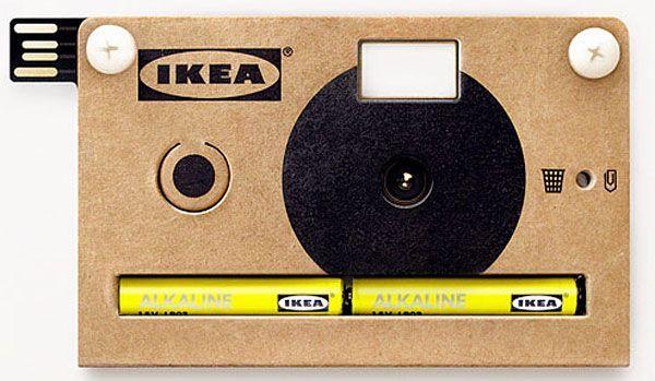 Fotocamera di cartone IKEA: la più economica digitale al mondo