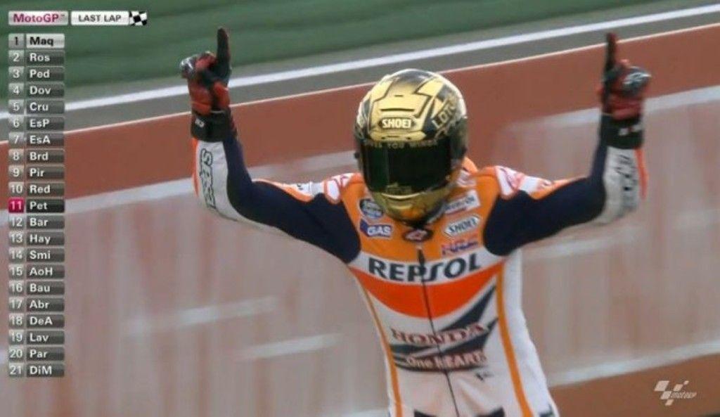 MotoGP Valencia 2014, gara: Marquez fa 13! Rossi 2°