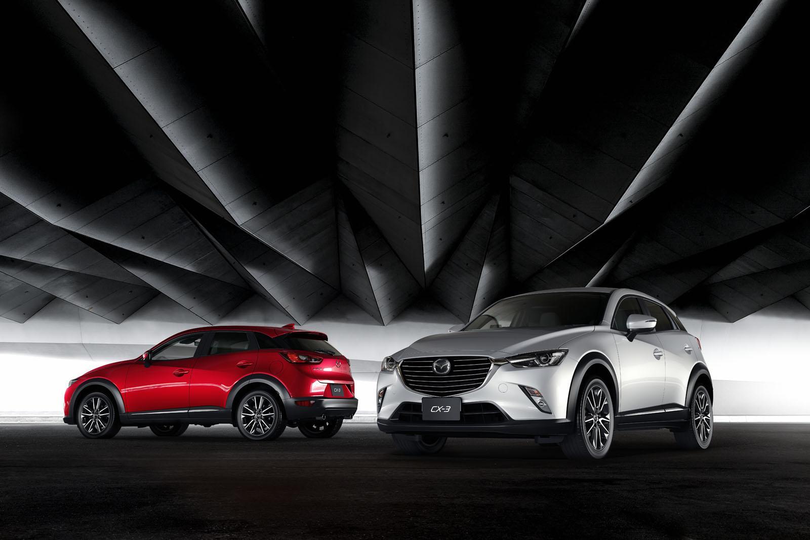 Mazda CX-3 2016: il crossover giapponese si rinnova