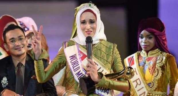 Miss Mondo Islam 2014 è Fatma Ben Guefrache: 'Prego per la Palestina libera'