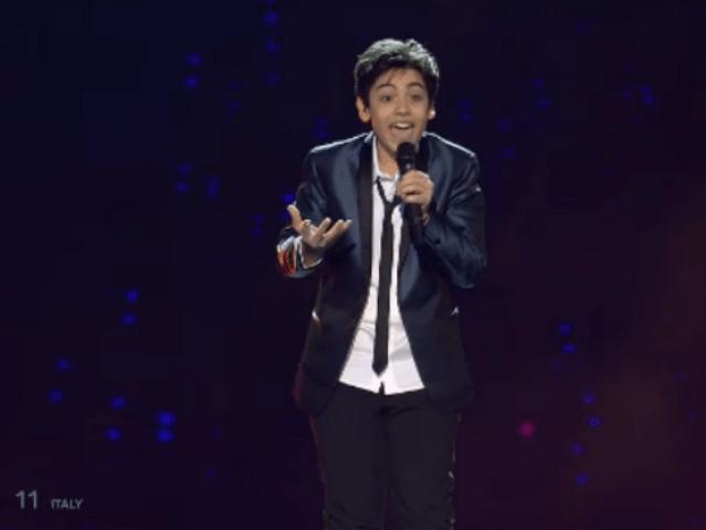 Junior Eurovision 2014, Vincenzo Cantiello è il vincitore con Tu primo grande amore