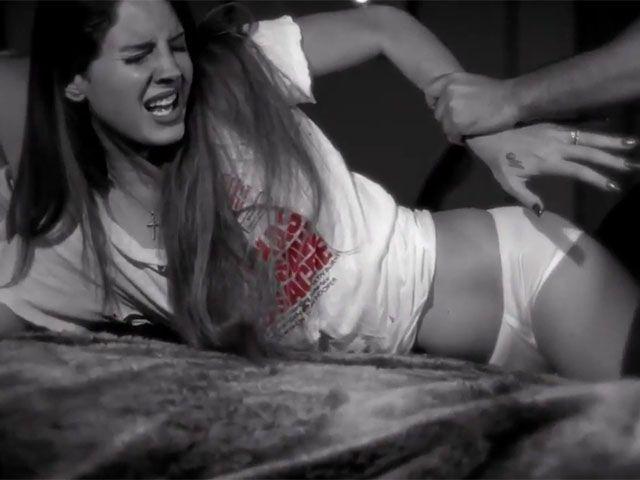 Marilyn Manson Lana Del Rey video shock