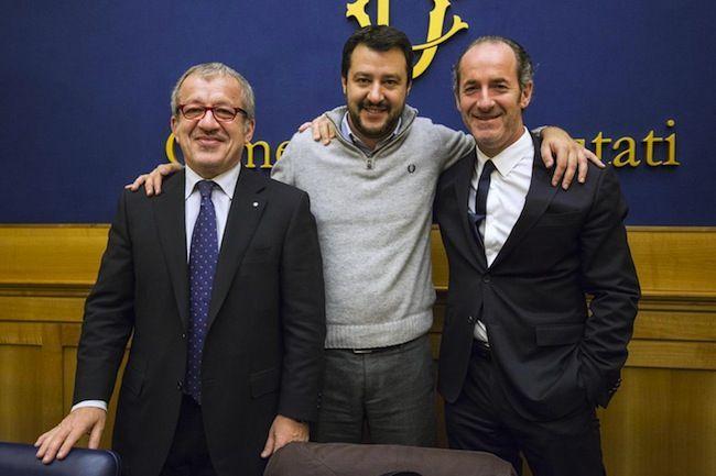 Lega Nord in crisi nel Veneto: così Matteo Salvini non sarà mai il leader del Centrodestra