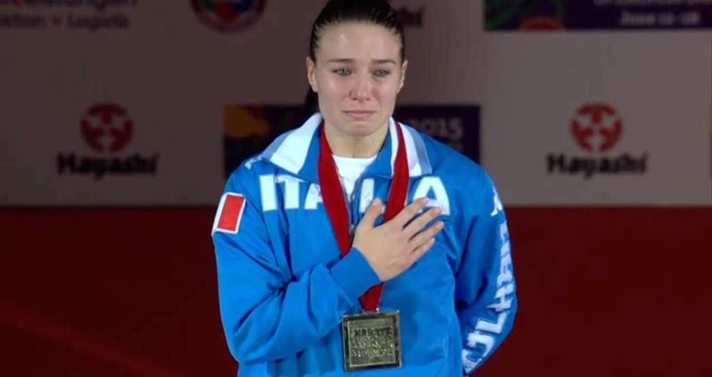 Karate, Italia conquista oro ai Mondiali con Sara Cardin