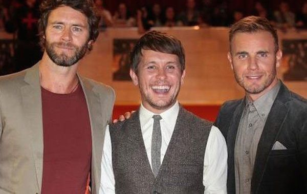 Take That: a Londra accendono le luci di Natale
