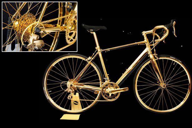 La bicicletta d'oro che costa più di una Supercar