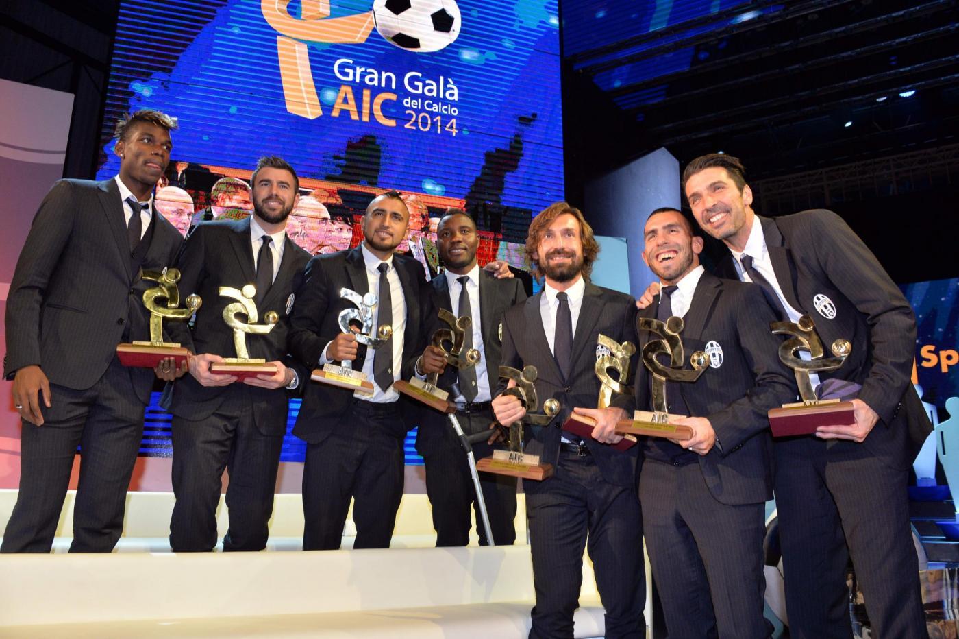 Juventus pigliatutto al Gran Galà del Calcio 2014