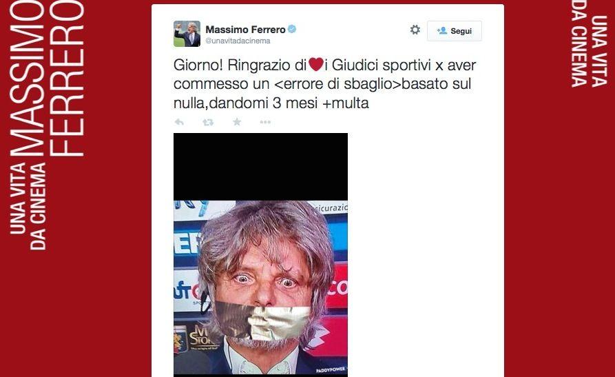 Massimo Ferrero Twitter 150x150