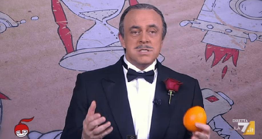 DiMartedì, Maurizio Crozza e il Buzziball alle Olimpiadi: la copertina del 16 dicembre