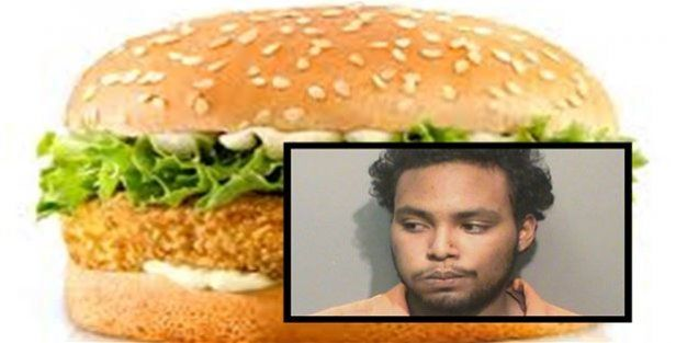 Picchia la moglie con un panino del Fast Food: arrestato