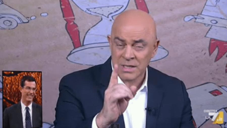 DiMartedì, Maurizio Crozza con la copertina a La 7: 'Per Salvini Gesù non sarebbe mai nato'
