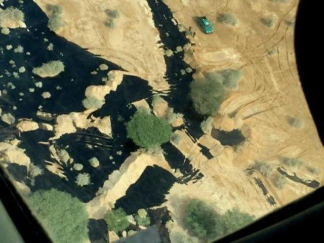 perdita oleodotto deserto israele