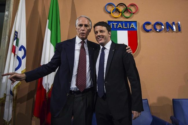 Olimpiadi 2024, Renzi lancia la candidatura di Roma
