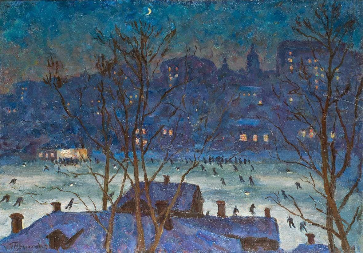Mostra Impressionismo russo: a Venezia, a Palazzo Franchetti, dal 13 febbraio al 12 aprile 2015