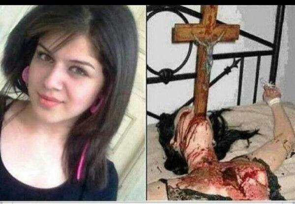 La bufala della ragazza cristiana stuprata e impalata dall'Isis