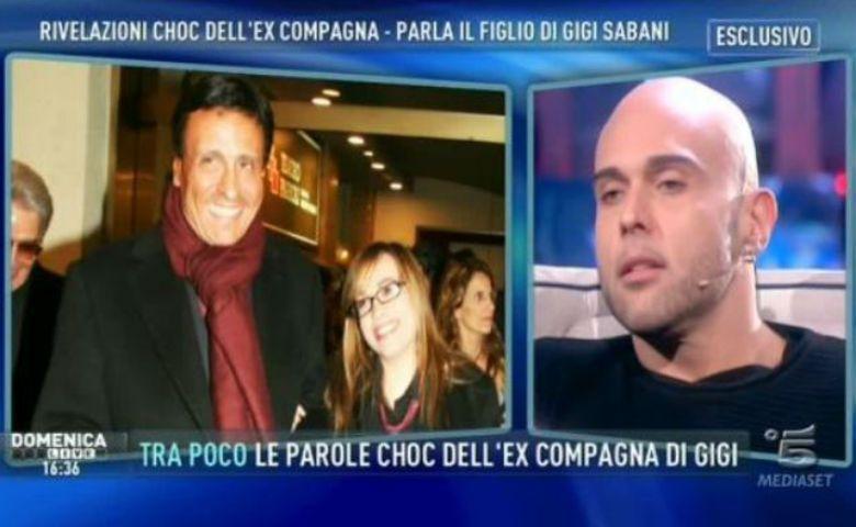 Simone Sabani, figlio di Gigi, a Domenica Live: 'La morte di mio padre? Le polemiche non servono'