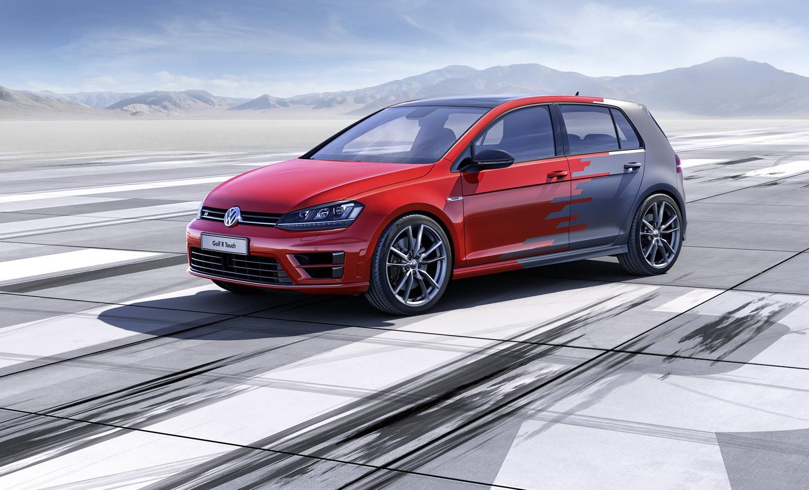 Volkswagen Golf R Touch concept: presentazione al CES 2015
