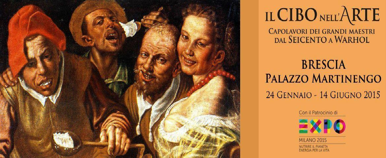 Mostra Il cibo nell'arte. Capolavori dei grandi maestri dal Seicento a Warhol: a Brescia dal 24 gennaio al 14 giugno 2015