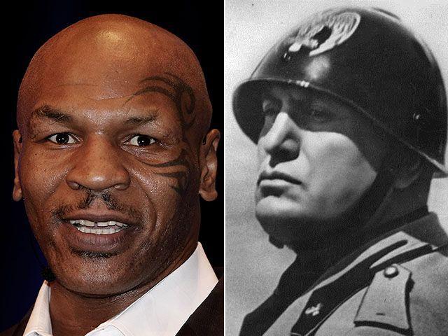 Tyson Madonna Mussolini