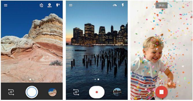 App Android foto professionista