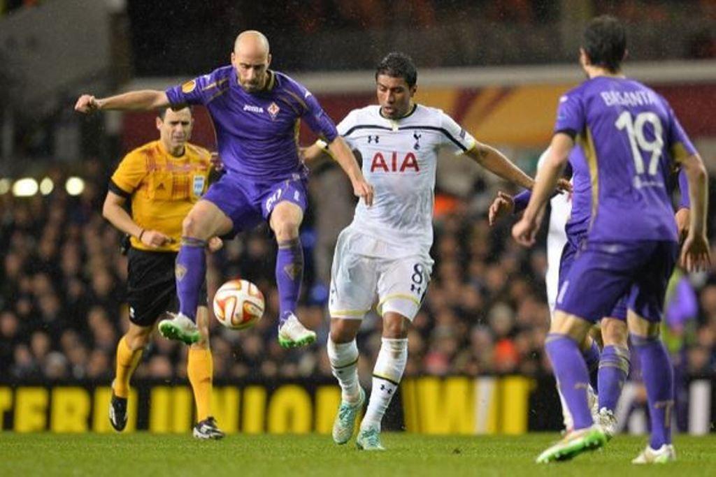 Europa League 2014-2015, Tottenham-Fiorentina 1-1: pari prezioso a Londra