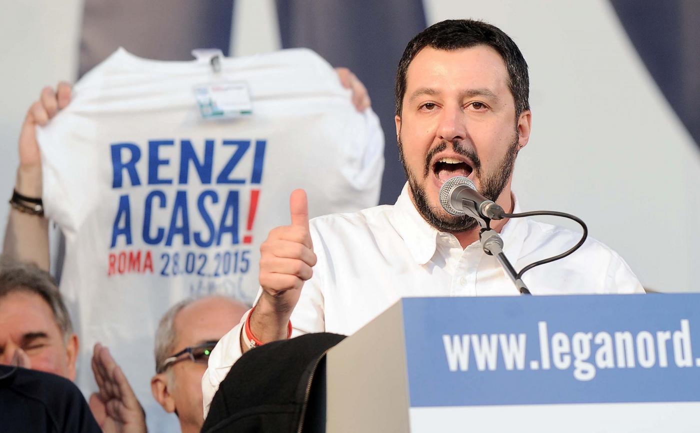 Salvini, Roma blindata per #Renziacasa: in piazza anche i centri sociali contro Lega-CasaPound