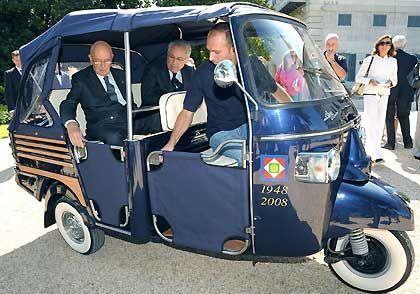 Tutte le auto del Presidente della Repubblica [FOTO]