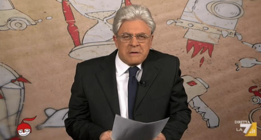 Crozza a diMartedì del 19 maggio 2015: ironia su Matteo Renzi da Giletti