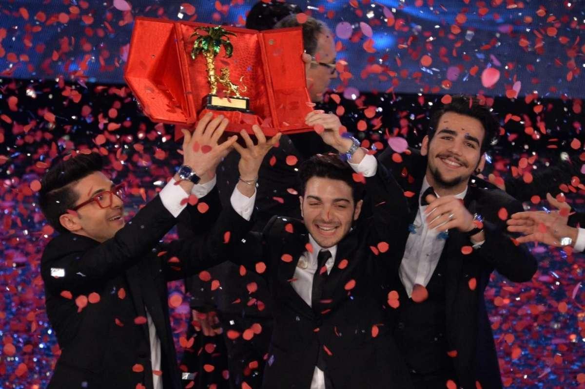 Sanremo 2015 finale Il Volo vincitori