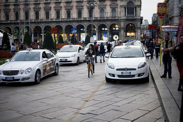 Uber-Taxi: sale la tensione a Milano