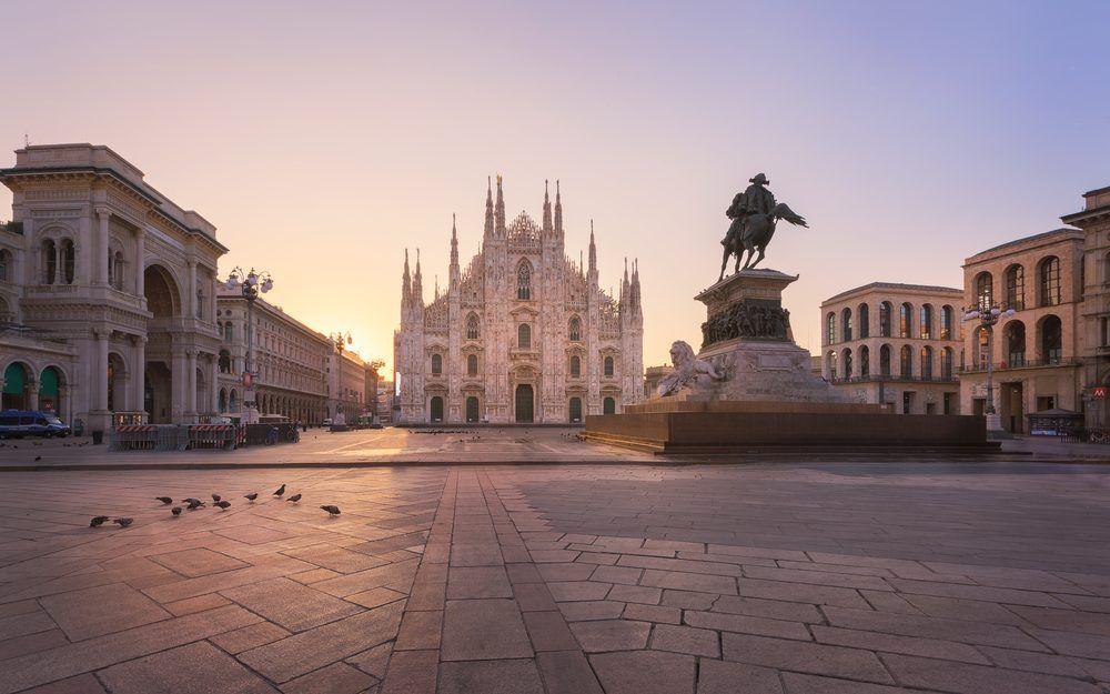 Duomo di Milano lockdown