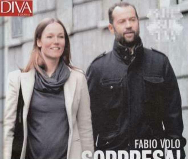Fabio Volo papà, secondo figlio con Johanna Hauksdottir