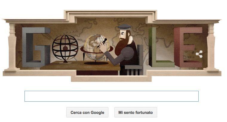 Gerardo Mercatore e non Gerdardo: il Google Doodle col nome sbagliato